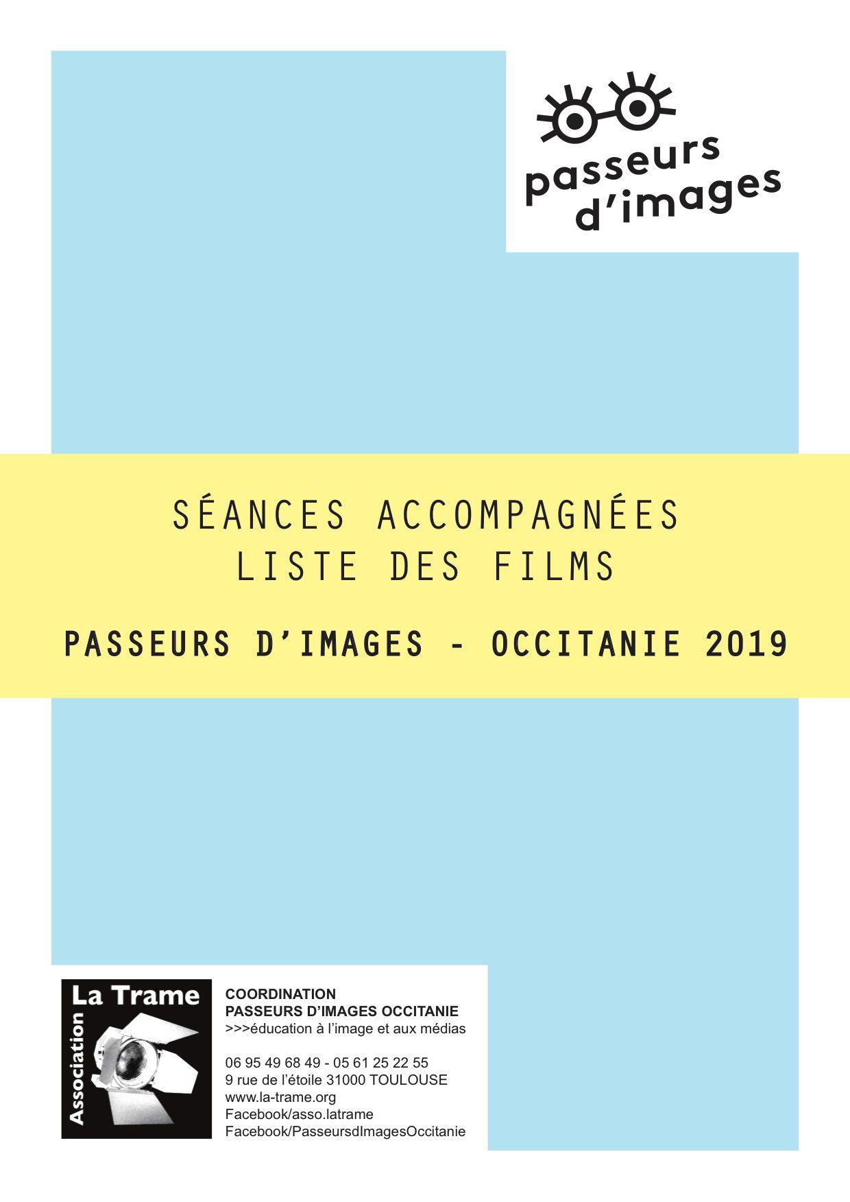 Liste des films séances accompagnées Passeurs images 2019
