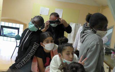 Atelier de création audiovisuelle documentaire avec des jeunes de Colomiers